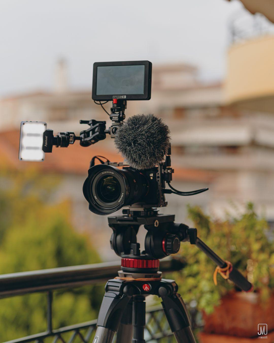 content-creation-camera-setup