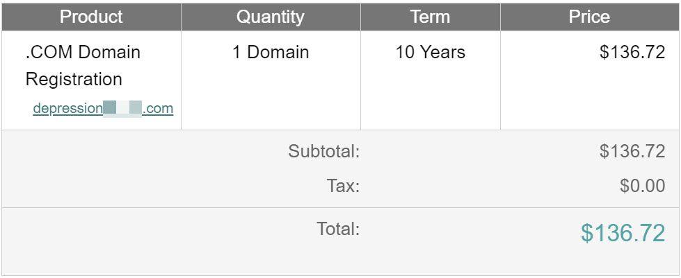 depression-domain-name-registration